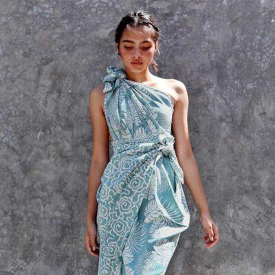 Batik Sarong – Rayon – Ocean Breeze