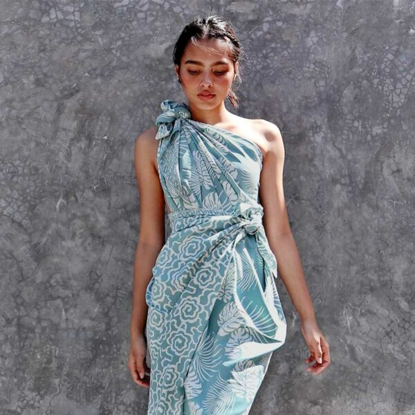 Batik Sarong Rayon Ocean Breeze