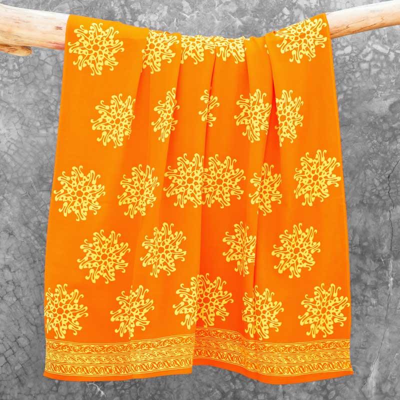 Batik Sarong Rayon Orangina Pita Flower