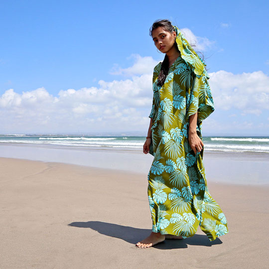 Lookbook Batik Resort Wear Clothing Kaftan